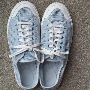 J.Crew x Tretorn Tournament Net Sneakers 9.5 blue